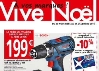 BRICO PRO Senlis - Catalogue VIVE NOËL 2016!